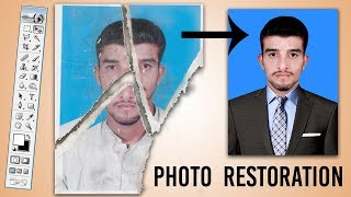 Photo Restoration | Remove Dust and Scratches in Photoshop