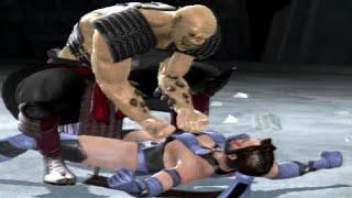 Mortal Kombat Vs DC Universe - All Character Finishing Moves On Kitana