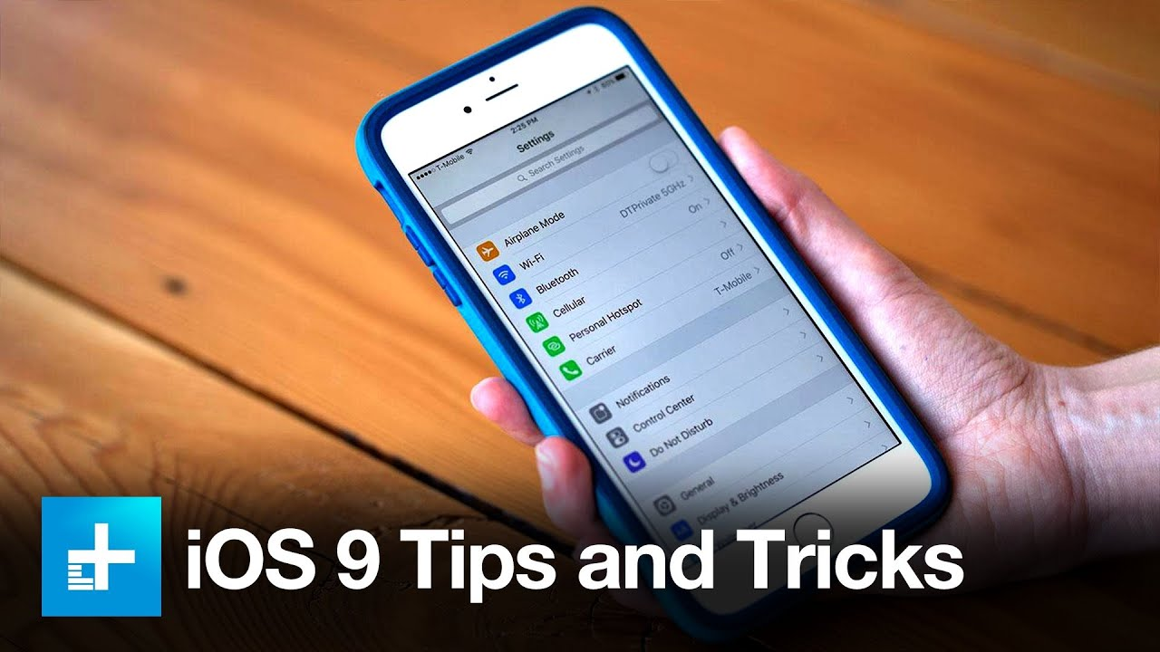 iOS 9 -Tips and Tricks