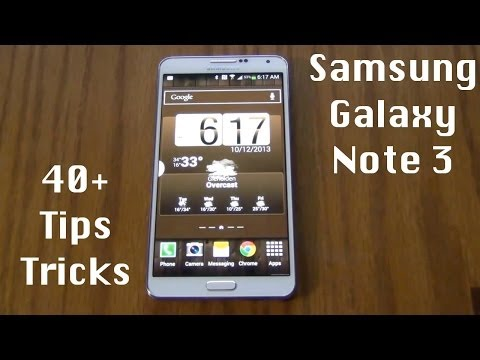 40+ Tips and Tricks for the Samsung Galaxy Note 3