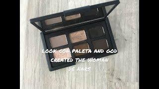 Look con paleta And God created the woman de Nars