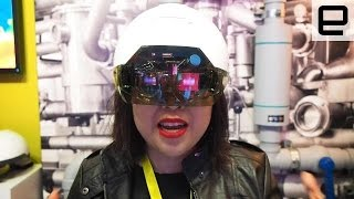 Intel's Daqri Smart Helmet: Hands-on CES 2016