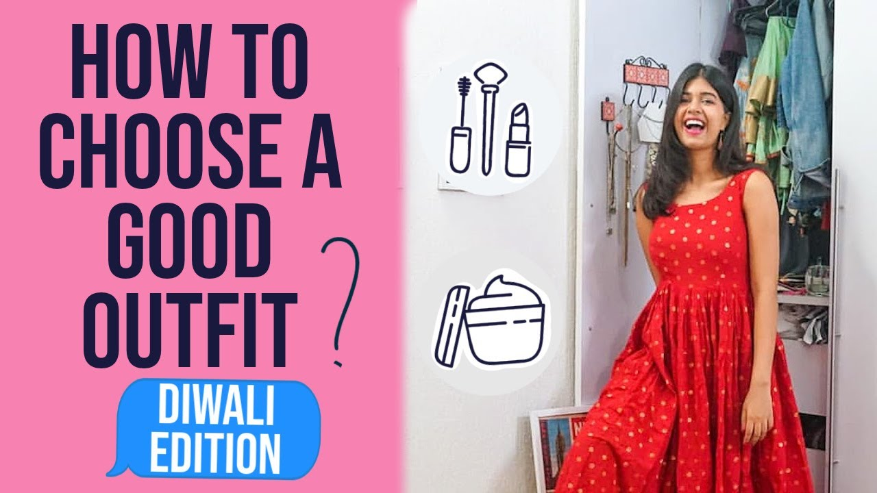 Get Ready With Me For a Diwali Party + How to Choose a Good Outfit | Sejal Kumar