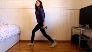 Treningsvideo Legger og lår Trainingvideo Legs