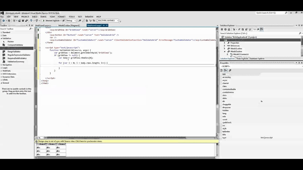 ASP NET - How to loop through the gridview using JavaScript
