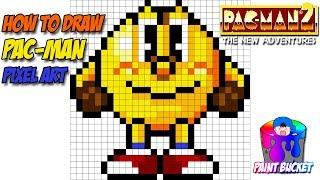 How to Draw Pac-Man 16-Bit - Namco