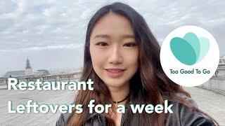 Ate restaurant leftovers for a week   Too good to go app review 减少食物浪费从吃餐厅剩饭开始   一周挑战 screenshot 3