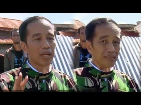 Video Detik-detik Presiden Jokowi Menahan Tangis Saat Berbincang Dengan Korban Gempa-Tsunami Palu