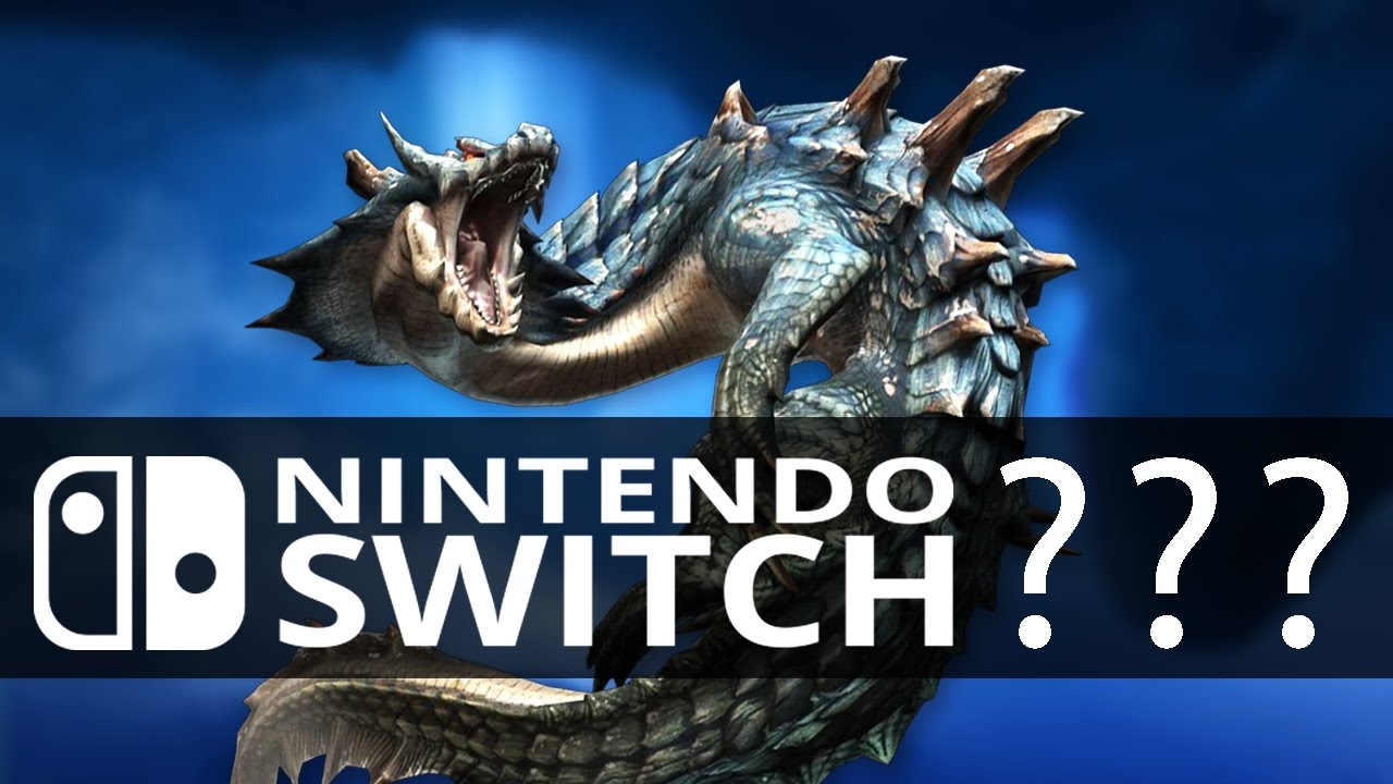 Monster Hunter Games On The Nintendo Switch Youtube