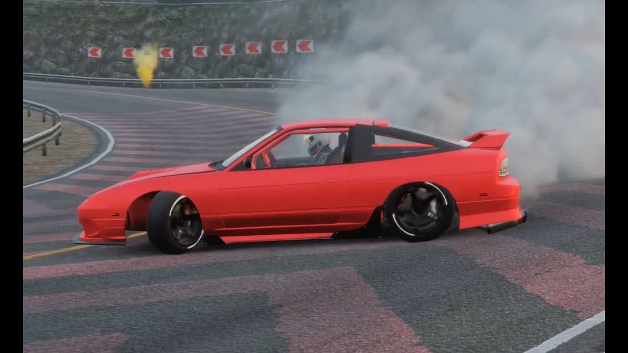 PC PS4 180SXで峠でドリフトしてみた! 練習中 【CarX Drift Racing Online】