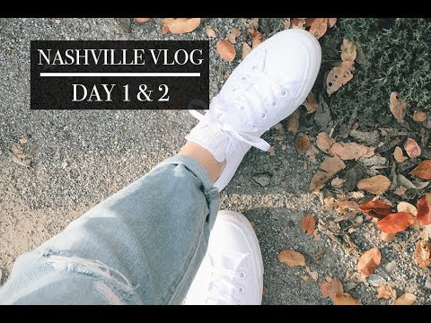 Nashville VLOG // MUSIC ROW & 12TH SOUTH