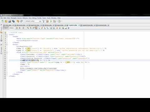 PHP Tutorials: Referral system 1: Starting to build it