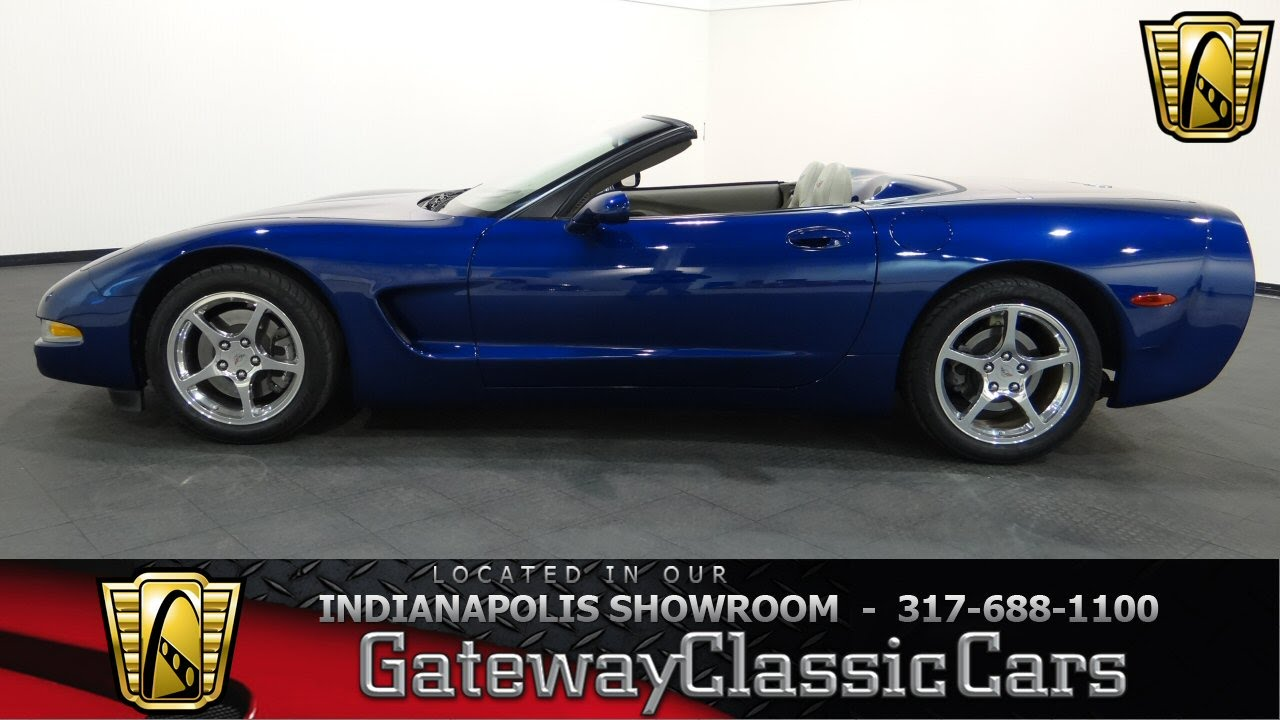 2004 chevrolet corvette commemorative edition gateway classic cars indianapolis 478 ndy. Black Bedroom Furniture Sets. Home Design Ideas