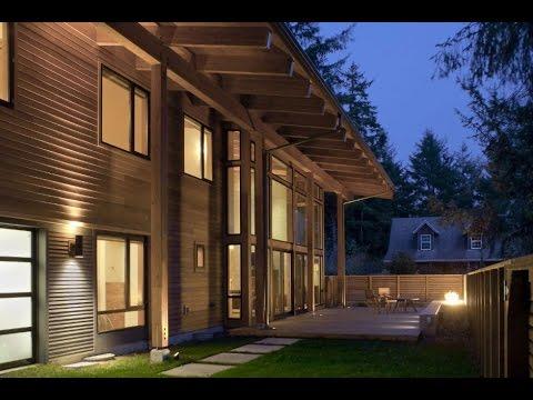 the wooden mulligan residence by scott edwards. Black Bedroom Furniture Sets. Home Design Ideas
