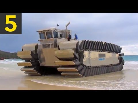 Top 5 Weird and Unusual Vehicles