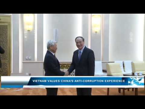 Vietnam values China's anti-corruption experience