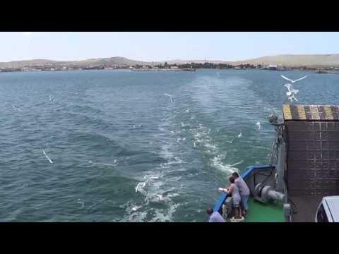 Керченский пролив. порт Крым-Порт Кавказ.весь процесс переправы.