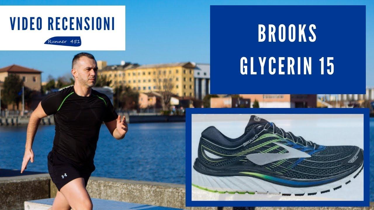 bella vista codice promozionale moda di lusso Runner 451 Recensione Brooks Glycerin 15