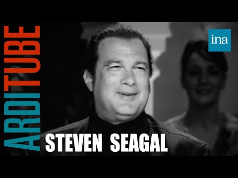 Interview Steven Seagal - Archive INA