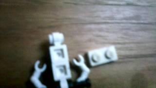 Как сделать робота ниндзя из лего