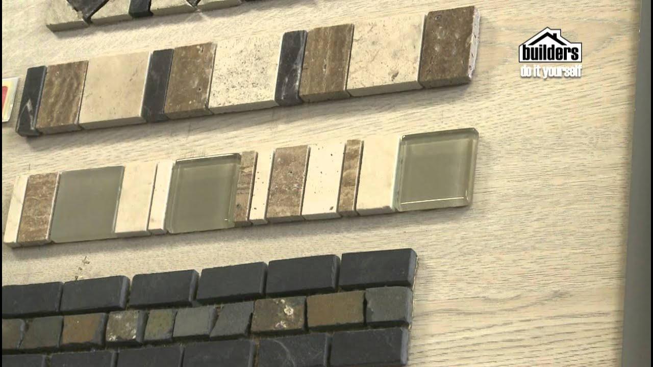 Builders DIY: Tiling - Choosing Wall Tiles - YouTube