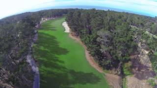 Poppy Hills Golf Course Hole #1, Pebble Beach