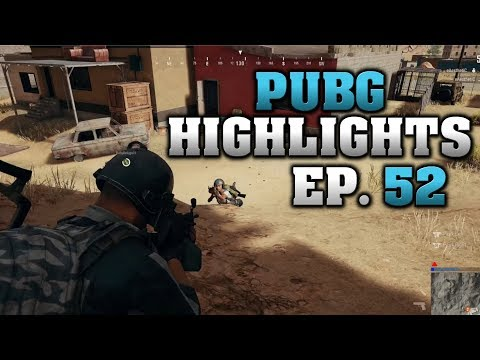 PUBG Highlights - Epic Moments 52 - EP 185 - IQ Over 3000
