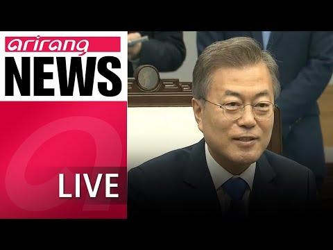 [LIVE/NEWSCENTER] S. Korea's presidential spokesperson says next inter-Korean summit in fall may..