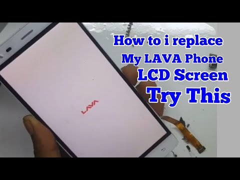 Lava Grand 2 Full Video How To Replace Lcd Screen