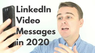 LinkedIn Video Messaging in 2020 is going to be huge.
