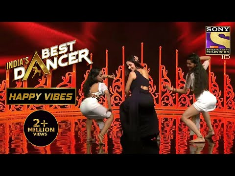 Mallaika की Twerking से Stage पे हुआ Blaze | India's Best Dancer | Happy Vibes