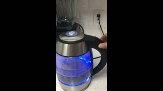 Costco: Chefman Cordless Glass Electric Kettle - REVIEW