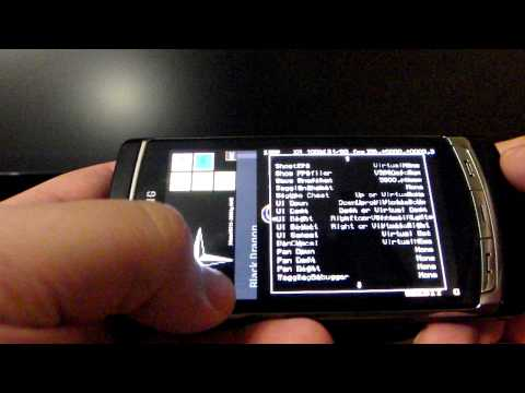 Mame Emulator running on Samsung i8910 MameXM