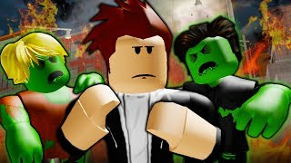 They Saved The World From The Zombie Outbreak: A Sad Roblox Movie