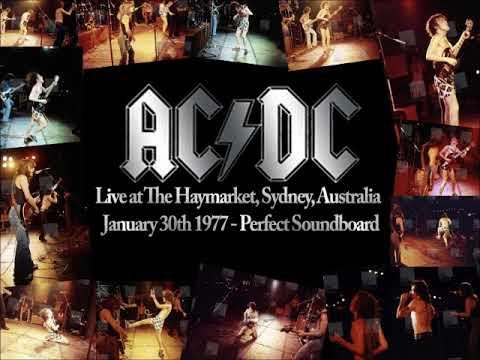 AC/DC - The Haymarket, Sydney, January...