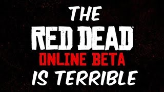 Red Dead Online is WORSE than GTA Online