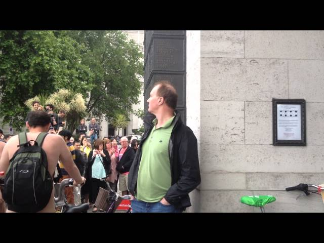 London Naked Bike Ride 2015