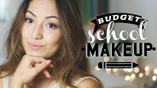 BUDGET SCHOOL MAKEUP TUTORIAL | Lifesplash