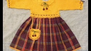 Вязаное платье для девочки. Мастер-класс. Сrochet dress for girls.Do it yourself