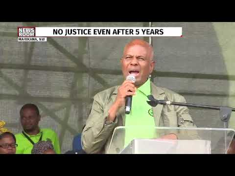 Mathunjwa addresses Marikana commemoration