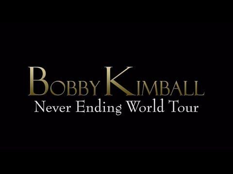 "bobby Kimball  ""Never Ending World Tour"""