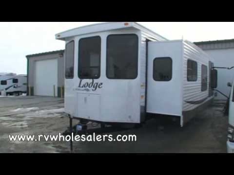 2010 Wildwood Lodge 392FLFB Park Trailer RV From RVWholesalers 50723