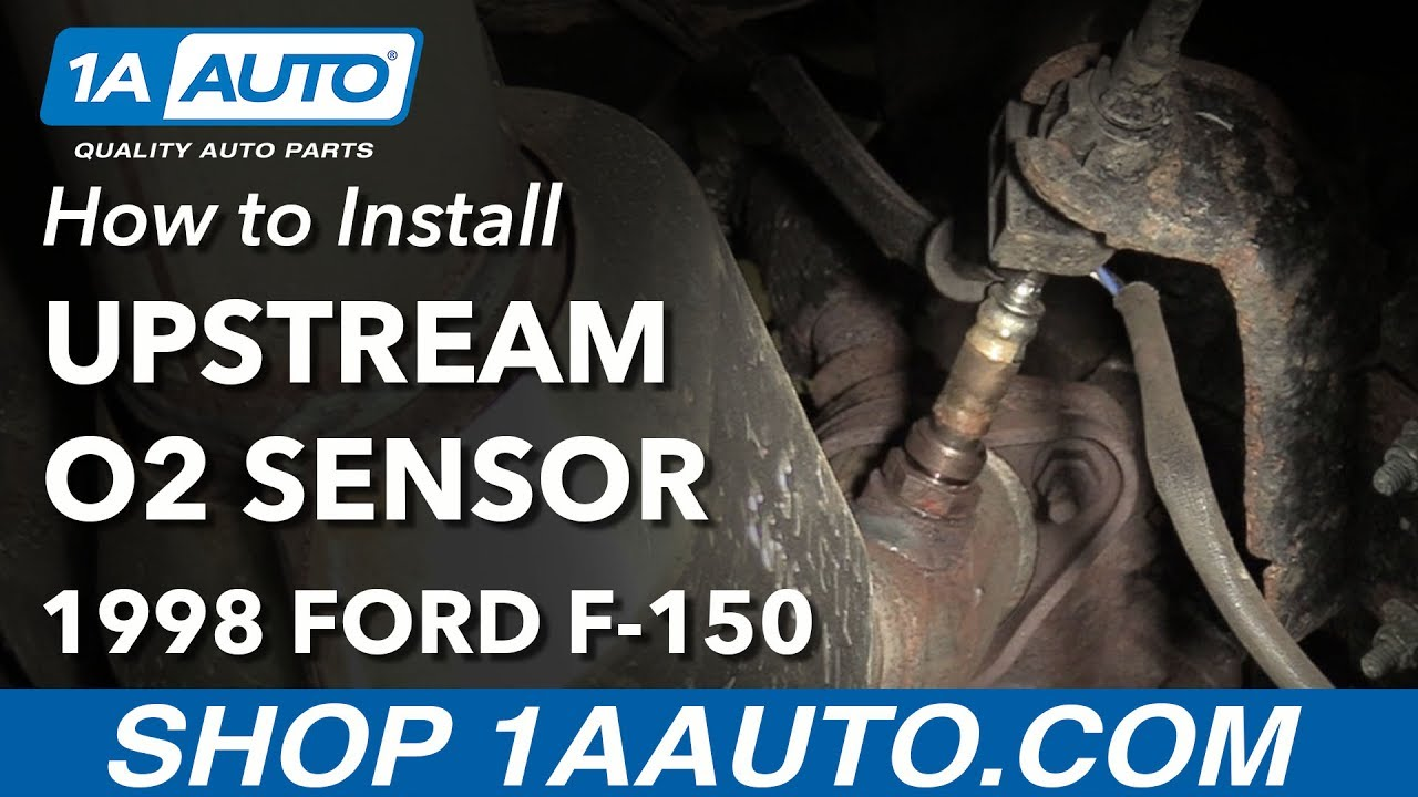 how to replace upstream oxygen sensor 97 98 ford f 150 youtube how to replace upstream oxygen sensor 97 98 ford f 150