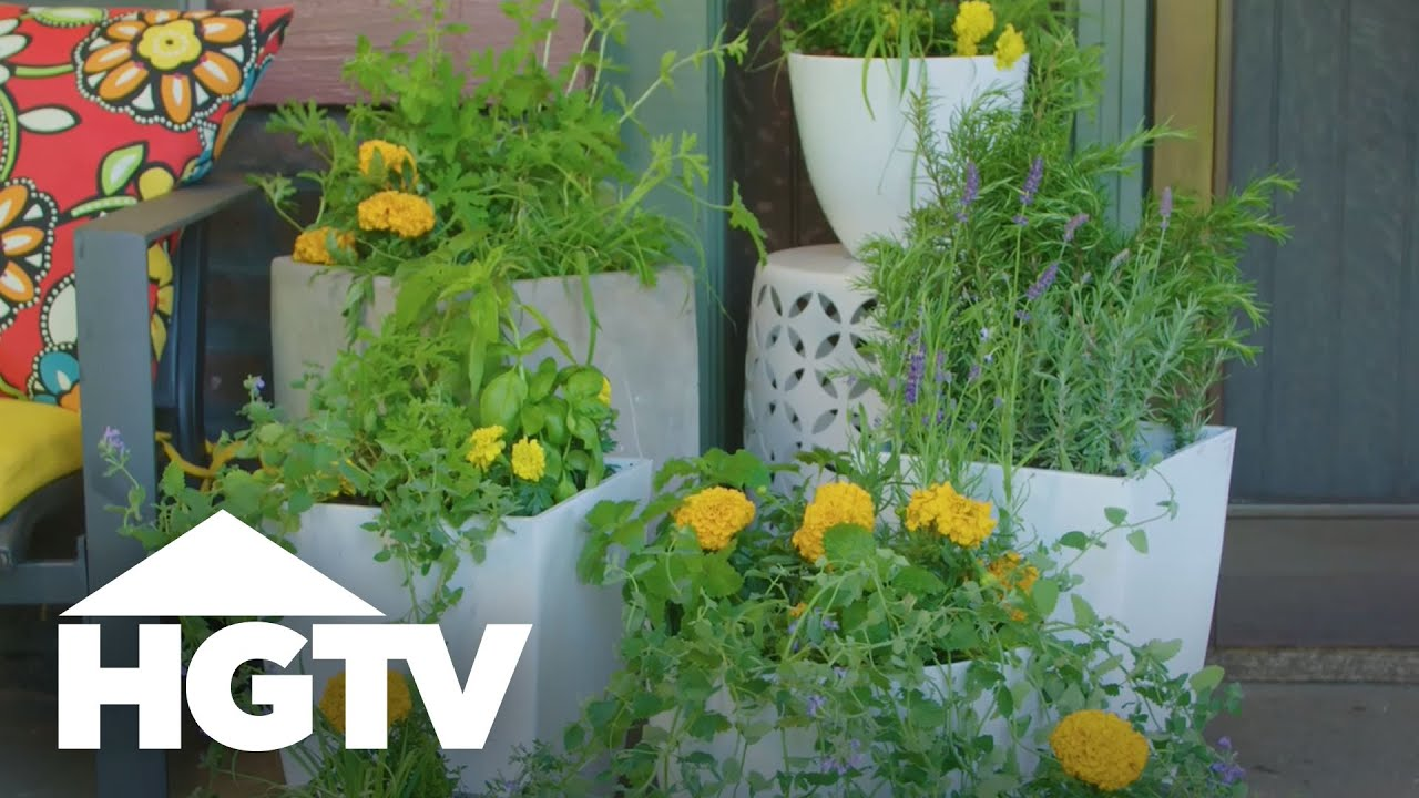 9 Plants That Repel Mosquitoes Way To Grow Hgtv Youtube