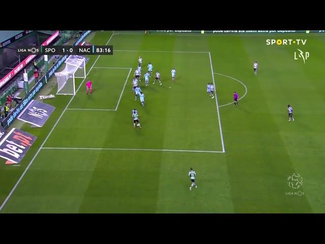 Goal | Golo Z. Feddal: Sporting (1)-0 CD Nacional (Liga 20/21 #30)