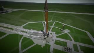 Kerbal Space Program RO Sandbox - Lockheed Mars Ascent-Descent Vehicle (MADV)