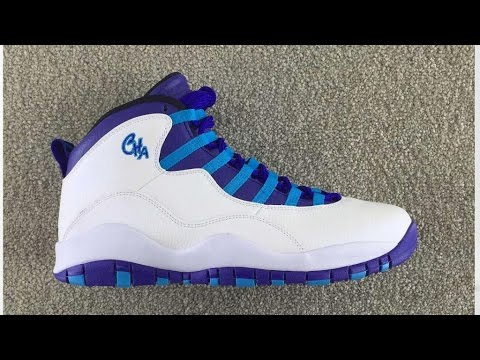The Air Jordan 10 Charlotte Is Perfect For Your 90s Fit - YouTube fcb4eb14f