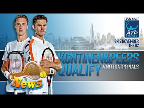 Defending champions kontinen/peers qualify for nitto atp finals