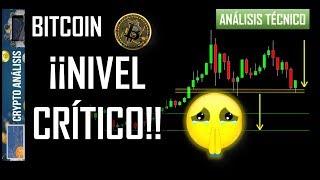 Bitcoin ¡NIVEL CRÍTICO!   Btc/Criptomonedas TRADING ANÁLISIS/NOTICIAS