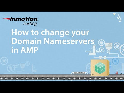How to change your Domain Nameservers in AMP